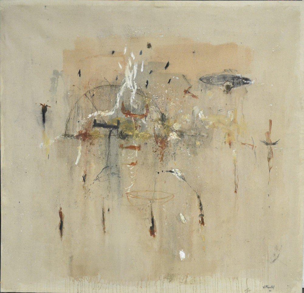449: Vincente Pimentel, Oil Painting on Canvas
