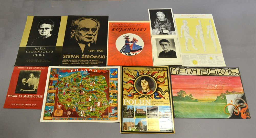 513: Grouping of (10) Polish Advertising Posters