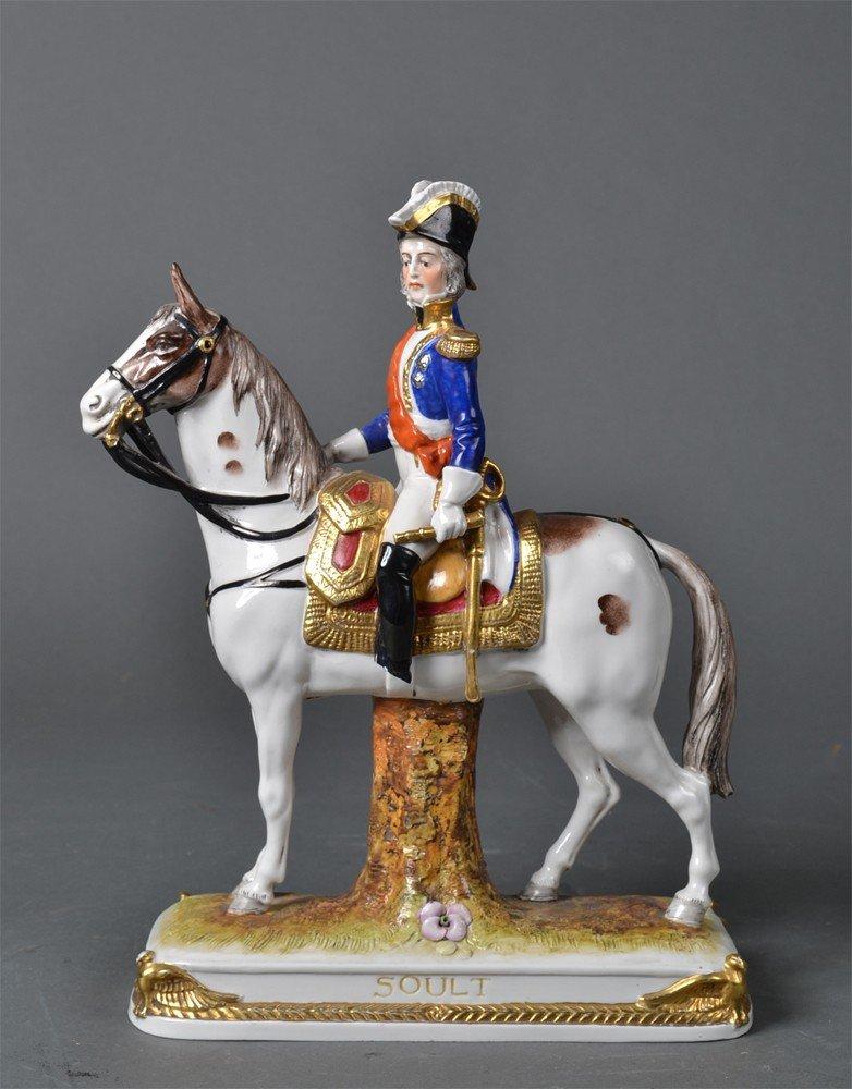 514: Schumann Dresden Porcelain, Napoleonic Soldier