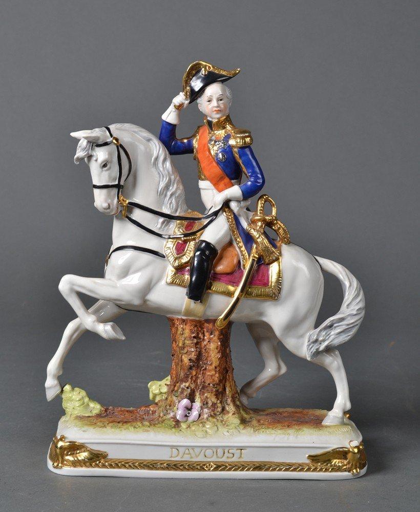 524: Schumann Dresden Porcelain, Napoleonic Soldier