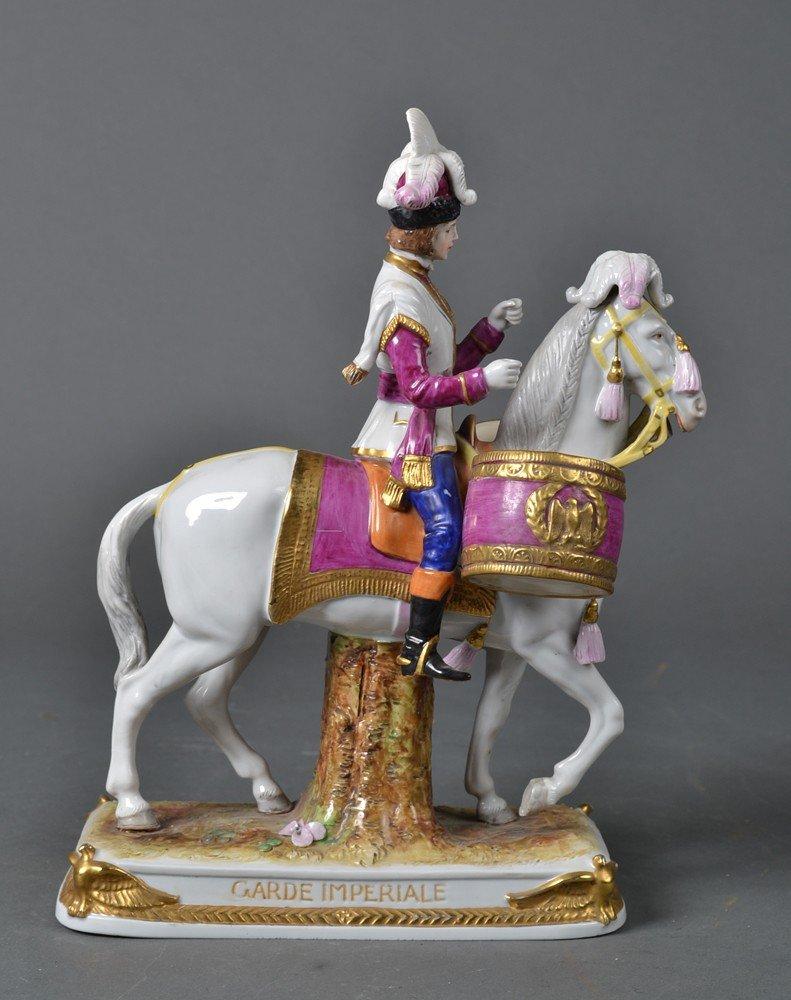 532: Schumann Dresden Porcelain, Napoleonic Soldier