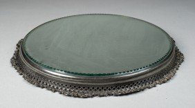 A Fine Antique Silver Plated Plateau
