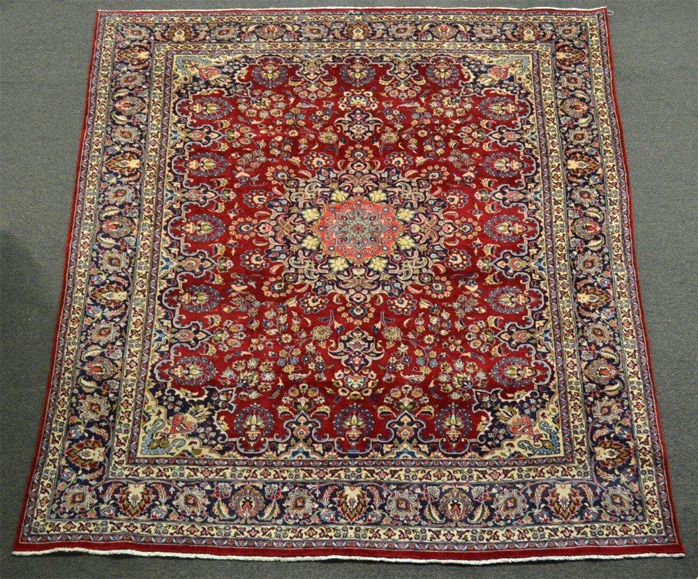 591: A Fine Iranian Tabriz Area Rug