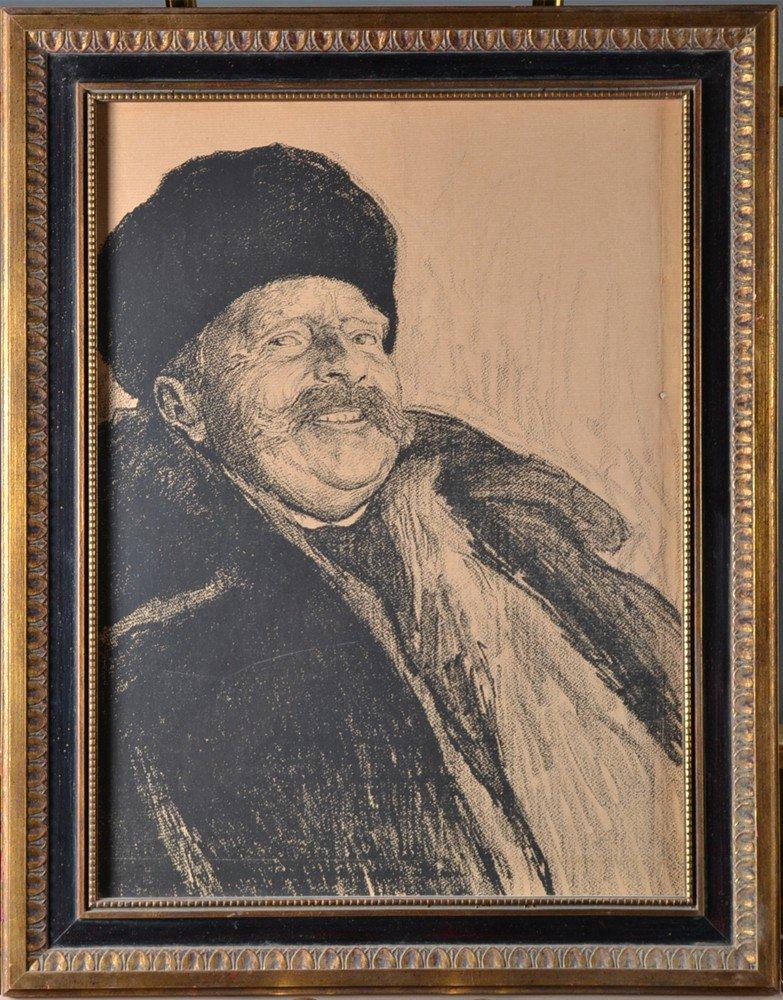 597: Poss. Leon Wyczokowski, Lithograph on Paper