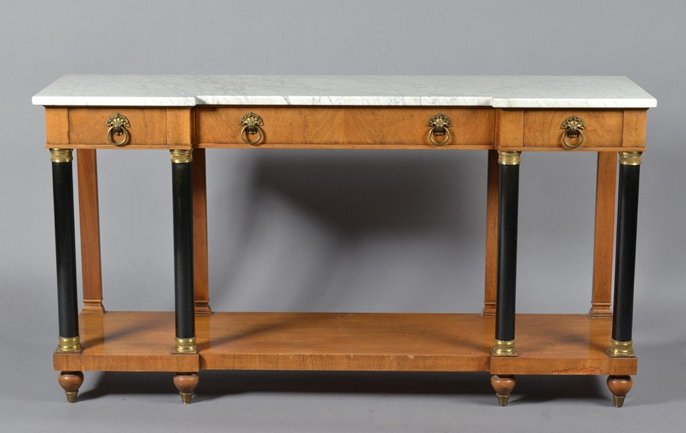 601: A Fine WM. A Berkey Furniture Classical Sideboard