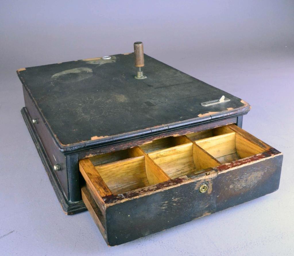 Antique Indiana Cash Drawer - 3