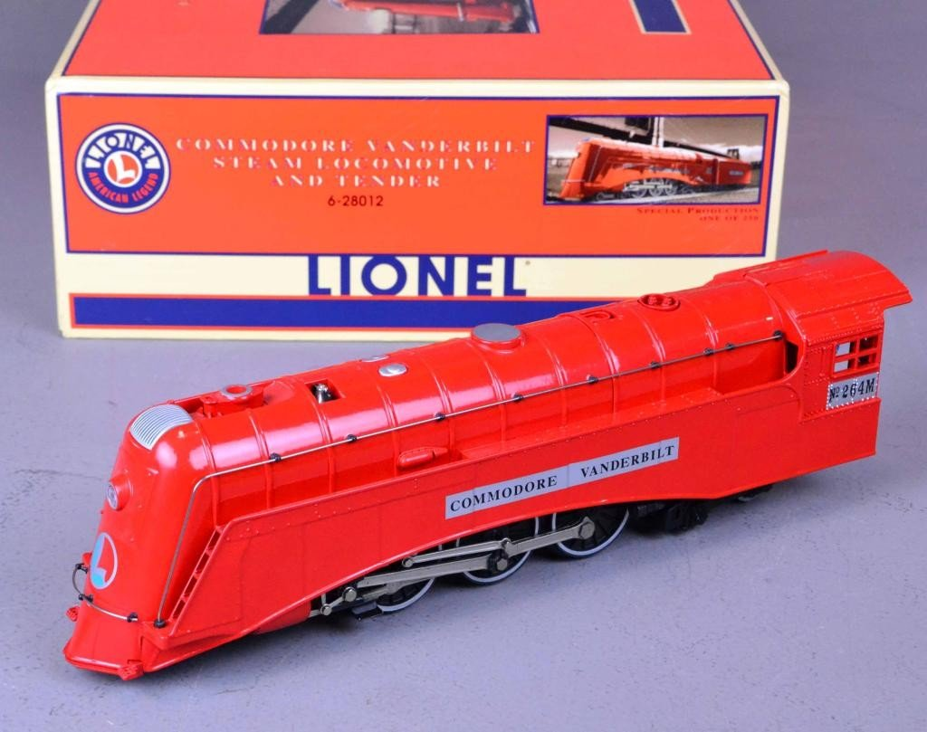 LIONEL COMMODORE VANDERBILT STEAM LOCOMOTIVE