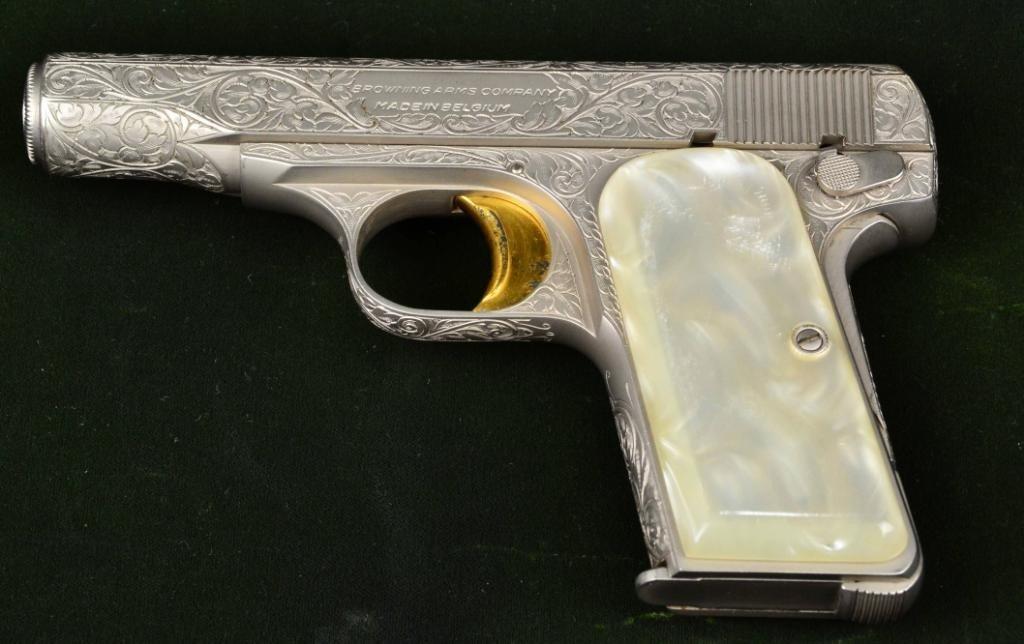 Browning  380 cal  Pearl Handle