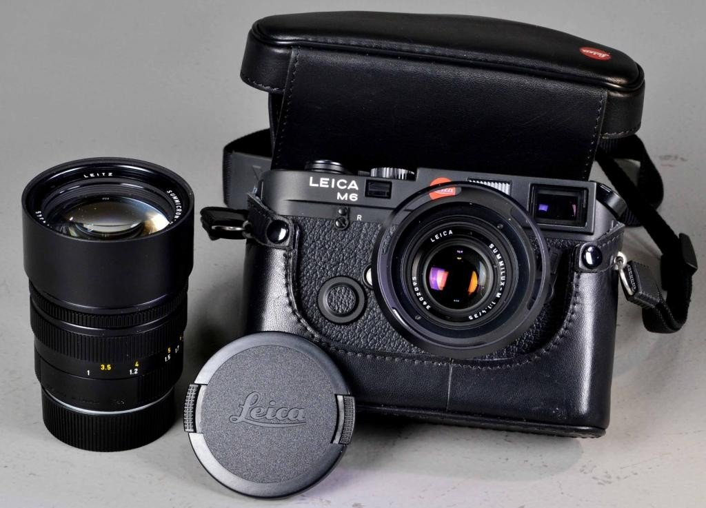 Leica Model M6 And Additional Leica Lens