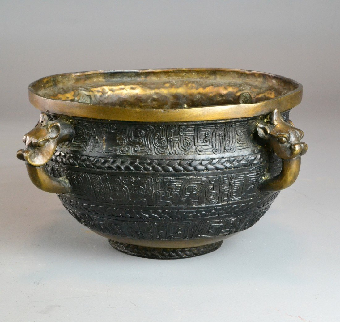 A Fine Chinese Bronze Incense Burner