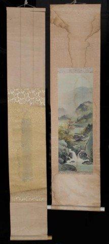 23: (2) Japanese Scrolls