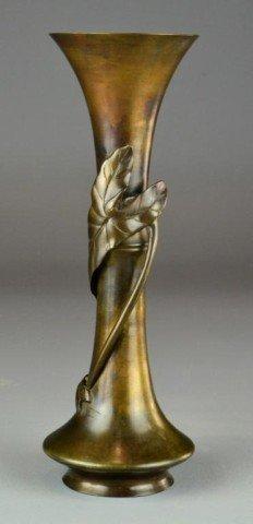 540: A Fine Japanese Meji Period Bronze Vase