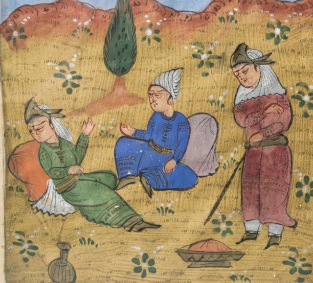 30: 18th Century Persian Painting on Paper - 4
