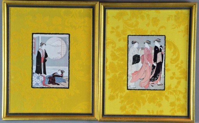 8: Pr. Kiyonaga Japanese Framed Prints