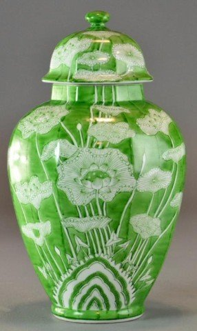 12: A Chinese Covered Ginger Jar