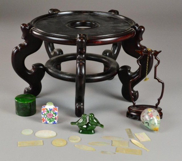 16: (20) Pieces Chinese Decorative Arts