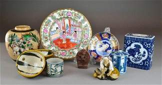 53 10 Pcs ChineseJapanese Porcelain