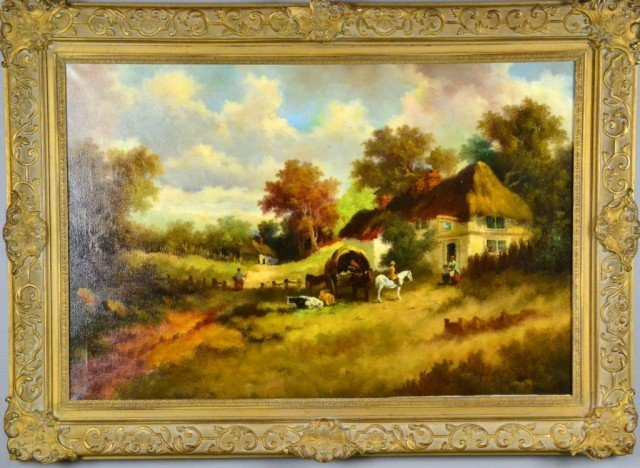 729: Signed G. L. Cameron  Oil On Canvas