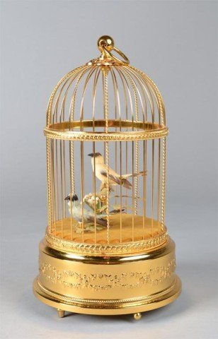 805: A Fine Swiss Reuge Two Singing Birds Music Box