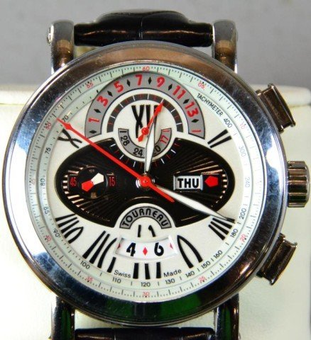 853: Tourneau Men's Wrist Watch - Gotham Avantgarde