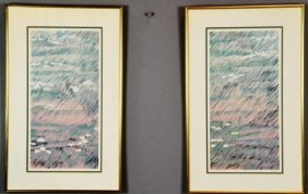 Pr. Guy Or Gray?  Abstract Lithographs