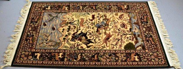 998: A Good Isfahan Wool Rug