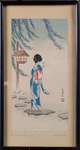 25: Japanese Woodblock Print