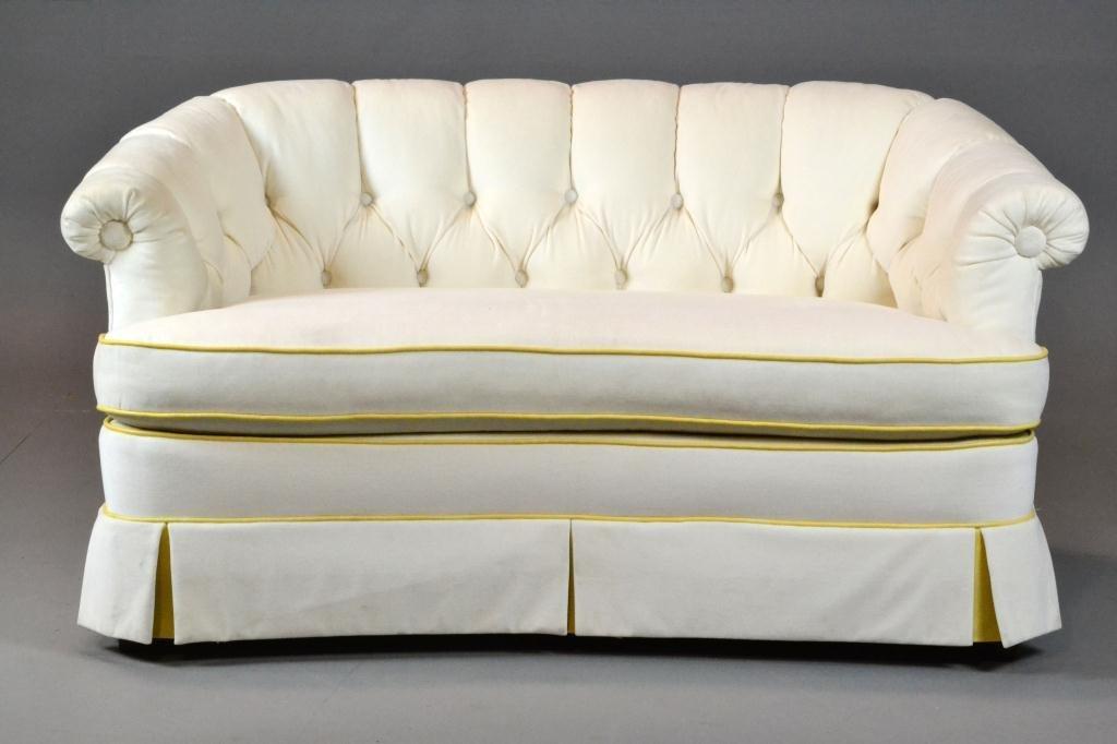 12: A Fine Mid Century Hollywood Regency Sofa