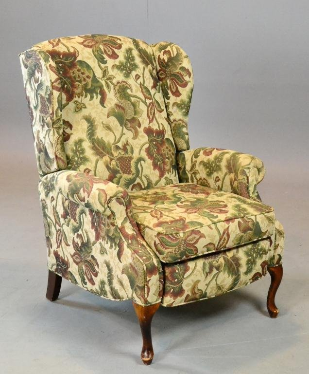 15: Lane Reclining Wing-back Chair
