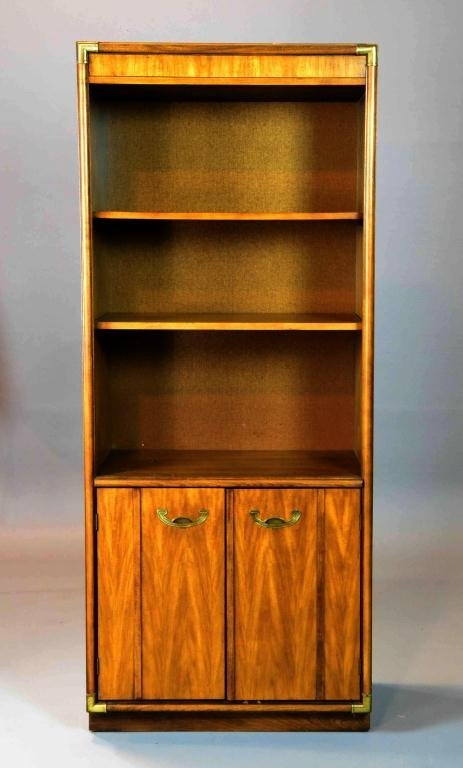 21: UPRIGHT BOOKCASE WITH CABINETS