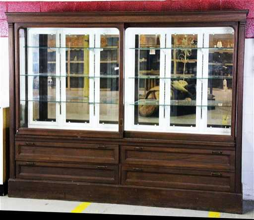 - 463: Antique General Store Display Cabinet