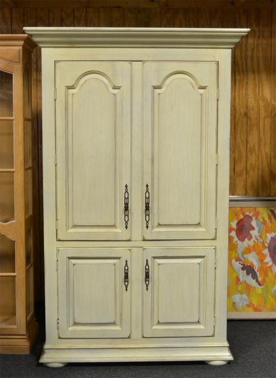 467: A Country French Drexel Heritage Armoire
