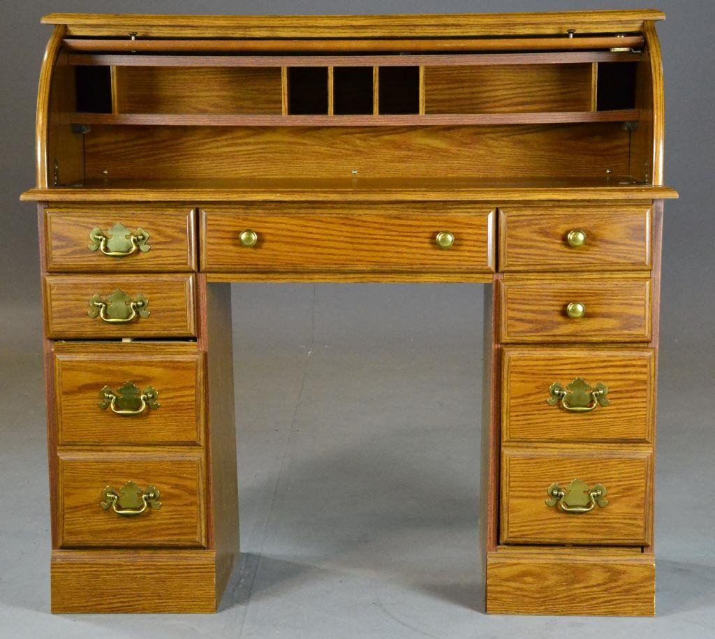 486: Roll-top Desk - Riverside Furniture - 2