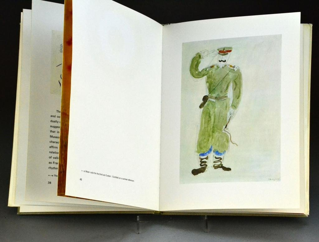 "4: Marc Chagall  ""The Ballet"" Drawings & Watercolors"