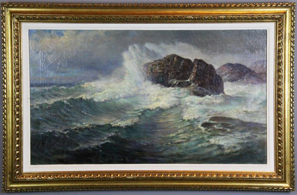 14: Charles Henry Grant Oil Painting On Canvas