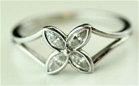 Tiffany Diamond And Platinum Ring