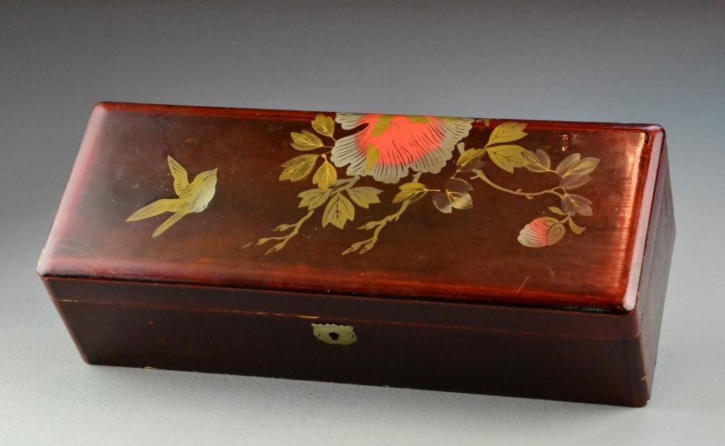 1: Japanese Lacquered Box