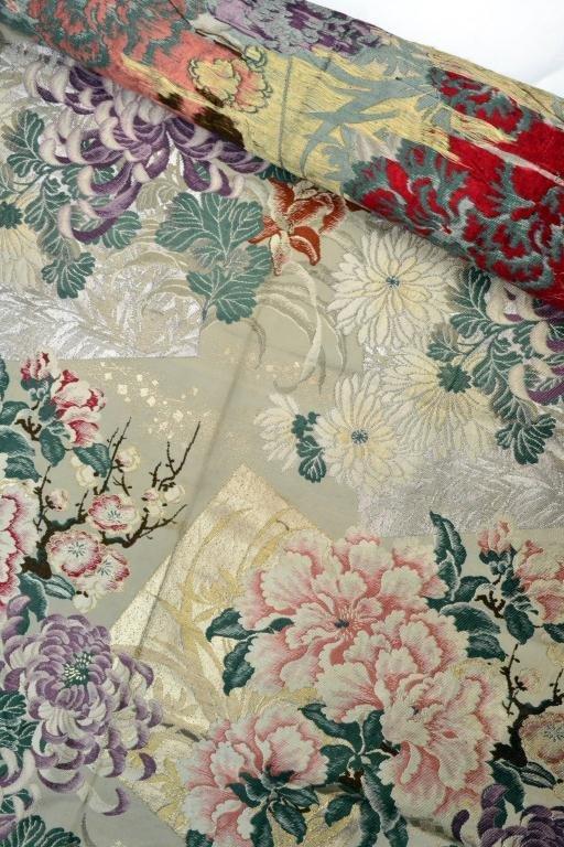 3: Japanese Obi Silk Material
