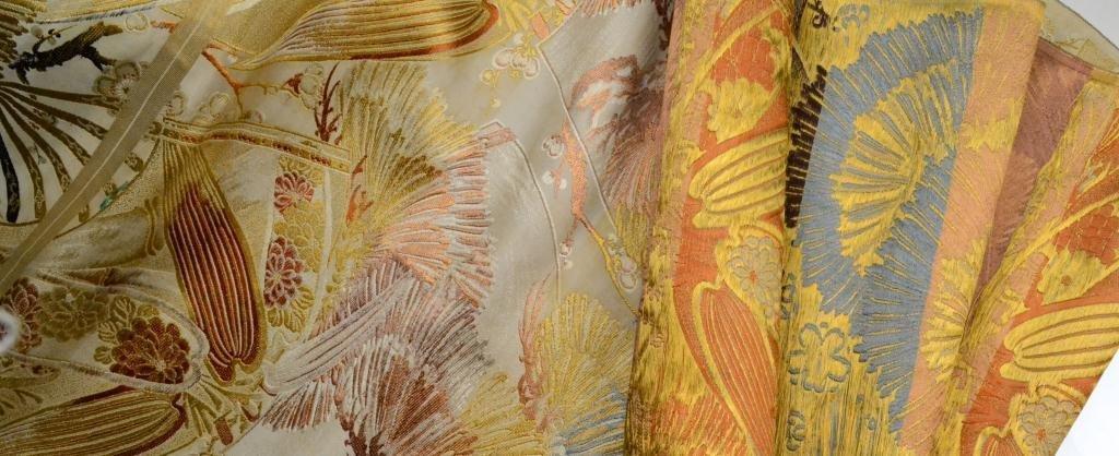 4: Japanese Obi Silk Material