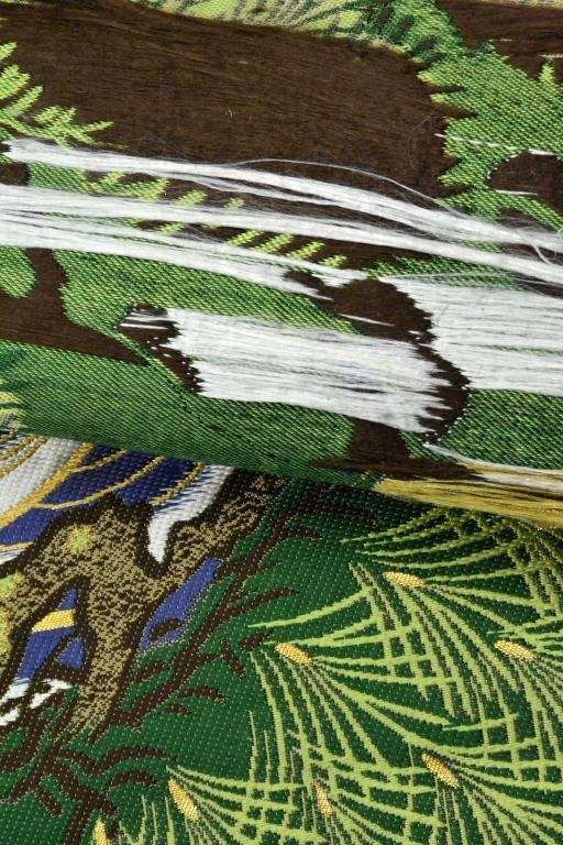6: Japanese Obi Silk Material