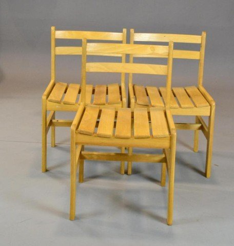 1: (3) CONTEMPORARY SIDE CHAIRS