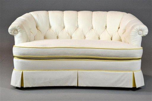 20 A Fine Mid Century Hollywood Regency Sofa