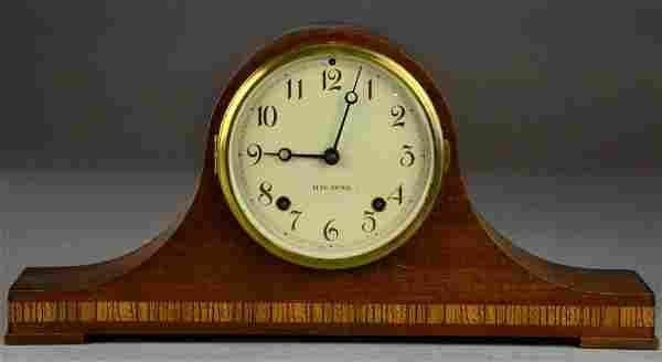 Inlaid Mahogany Seth Thomas Mantle Clock