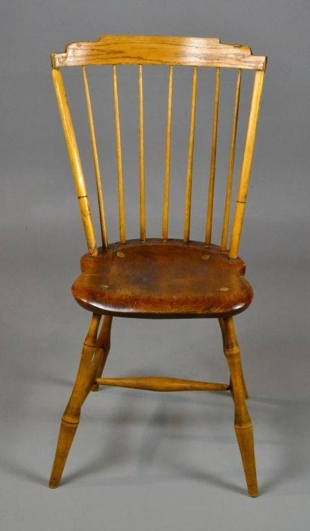 1A: An American Bird Cage Windsor Chair