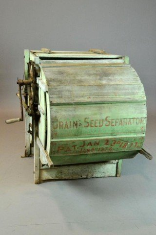 127a Antique Grain And Seed Separator