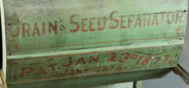 127A: Antique Grain and Seed Separator - 2