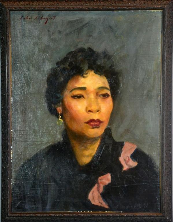 100: John Singer Sargent (American, 1856-1925) Portrait
