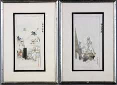 400 Pr Chinese Qing Watercolor Paintings On Paper