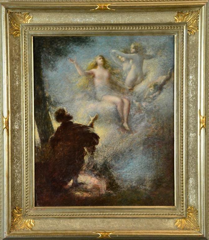 108A:  Henri Fantin-Latour Oil Painting On Canvas