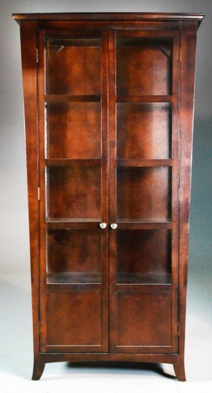 14: Stickley Style Curio Cabinet